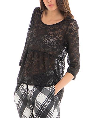 Kova Design Bluse schwarz