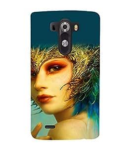 printtech Cute Beautiful Anime Girl Back Case Cover for LG G3 / LG G3 D855 / LG D850 / LG D851