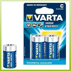 Batterie Baby C : varta high energy lr14 baby c battery 1 5 v ~ Watch28wear.com Haus und Dekorationen