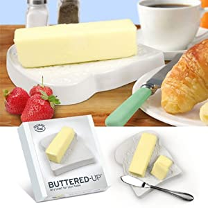 Fred & Friends Butter Dish - Toast