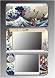 Zelda Wind Waker Japanese Art Great Wave Video Game Vinyl Decal Cover Skin Protector for Nintendo 3DS XL Console System