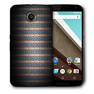 Snoogg Multicolor Pattern Design Designer Protective Phone Back Case Cover For Motorola Nexus 6