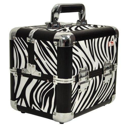 Roo Zebra Beauty Box Make Up Case - The Zulu
