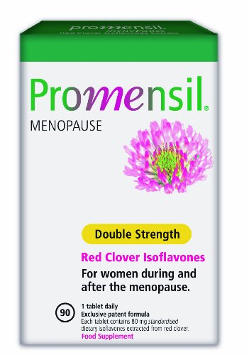 Promensil Menopause Double Strength Red Clover Isoflavones 80 mg, 90 Stück, 1er Pack (1 x 56 g)