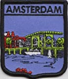 Amsterdam Netherlands Flag Embroidered Patch Badge