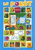 echange, troc Collectif - La forêt - puzzles autocollants