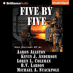 Five by Five Audiobook