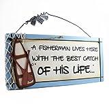 Heartwarmers Fisherman Sweet Sentiments Plaque