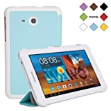 WAWO Samsung Galaxy Tab 3 Lite Case - Slim Shell Cover for SM-T110 WI-FI / SM-T111 3G 7.0 inches Tablet Computer - Blue