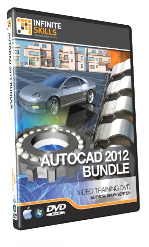 AutoCAD 2012 Training DVD - Beginners to Advanced - Discounted Bundle (Autocad 2012 Software compare prices)