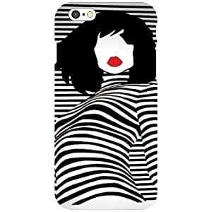 Printland Charming Girl Phone Cover For Apple iPhone 6