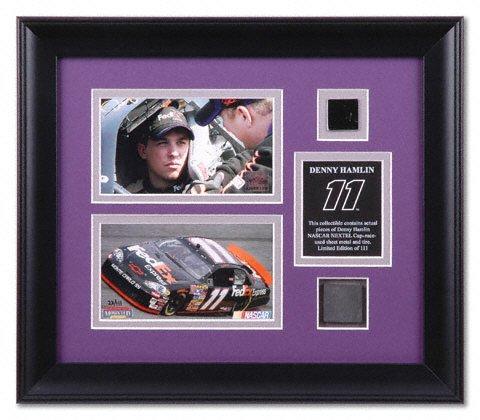 Denny Hamlin Car. Denny Hamlin Framed