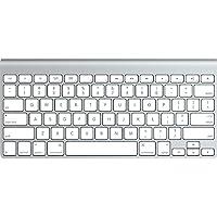 Apple MC184LL/B Bluetooth Keyboard (Silver)