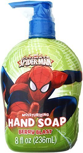 ultimate-spider-man-moisturizing-berry-blast-hand-soap-8-fl-oz-by-softsoap