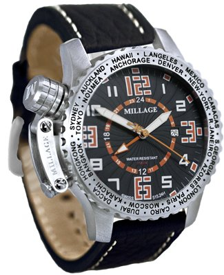 Millage Moscow Collection - BLK-OR-BLK-LB
