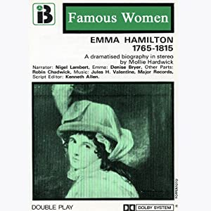Emma Hamilton, 1765-1815 Performance