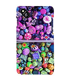 printtech Sweet Candy Back Case Cover for Micromax Bolt D303