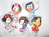 Disney Mickey Mouse Minnie Mouse Daisy Donald Duck Pluto Gourmet Chocolate Oreo Cookie Pops Birthday Favors 1 Dozen
