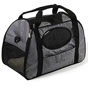 Gen7Pets Carry-Me Fashion Pet Carrier, Medium, Gray Shadow