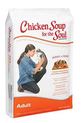 Chicken Soup for the Soul Adult Cat 5lb (Chicken Soup Cat compare prices)