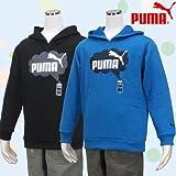 (プーマ)PUMA ジュニア 裏毛プルオーバーパーカー(827315)