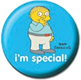 Official Merchandise Mini Button Badge - Simpsons- Ralph Picks His Nose