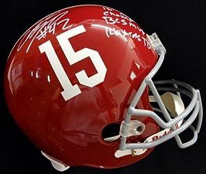 Eddie Lacy Autographed Alabama Full Size Helmet 15th Nat