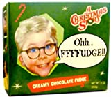 "A Christmas Story ""Oh Fudge"" Creamy Chocolate Fudge"