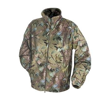 Jack Pyke Waterproof Fishing/Hunting Camo Fleece Jacket from Jack Pyke