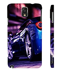 Samsung Galaxy Note 3 KNIGHT IN THE NIGHT designer mobile hard shell case by Enthopia