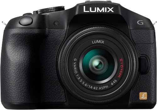 Panasonic Lumix G Series DMC-G6KK Compact System Digital Camera with 14-