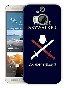 "Humor Gang House Skywalker - Winter Games Printed Designer Mobile Back Cover For ""HTC ONE M9 PLUS"" (3D, Matte, Premium Quality Snap On Case)"
