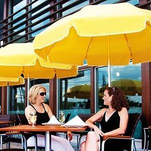 Frankford Umbrella 7-5 ft. Patio Umbrella with Valance