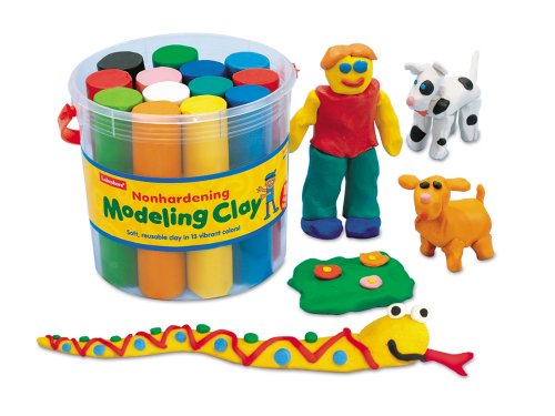 Nonhardening Modeling Clay Bucket - Each (Modeling Clay For Kids compare prices)