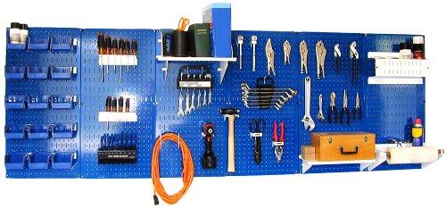 Wall Control 30-Wrk-800Buw Master Workbench Metal Pegboard Tool Organizer front-994976