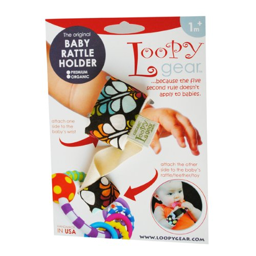 Baby Rattle Holder Beautiful Butterfly Loopy