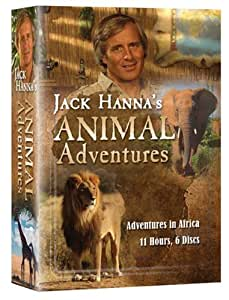 Jack Hanna's Animal Adventures (6 DVD's)