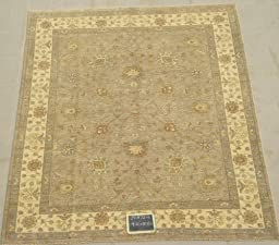 8x10 Beautiful Hand Knotted Vegetable Dye One-of-a-Kind Rug Actual Size 8\'1x9\'10