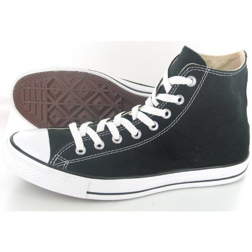 Chaussure Haute Mixte - Basket Converse - All Star Hi - Blanc Noir - Pointure 40