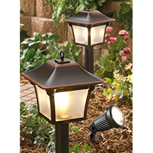 Click to buy Malibu Outdoor Lighting: 6 Pc Malibu Landscape Light Kit from Amazon!