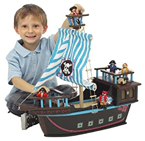 Small World Toys Ryan's Room Pirate Ship