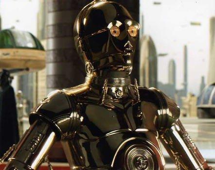 ブロマイド写真★『スター・ウォーズ エピソード3/シスの復讐』/C−3POのアップ