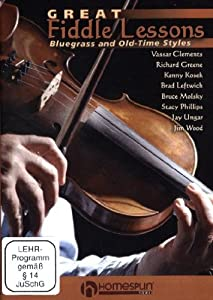 Great Fiddle Lessons: Bluegrass & Old Time Styles