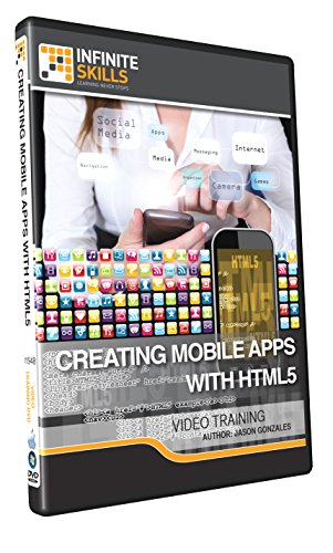 Creating Mobile Apps With HTML5 - Training DVD (Html5 App Development compare prices)