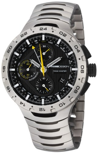 Momo Design Race Master Mens Watch MD100-02BKBK-MB