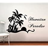 Hawaiian Paradise Wall Decal
