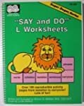 """""""Say and do"""" L worksheets: Over 100 r..."""