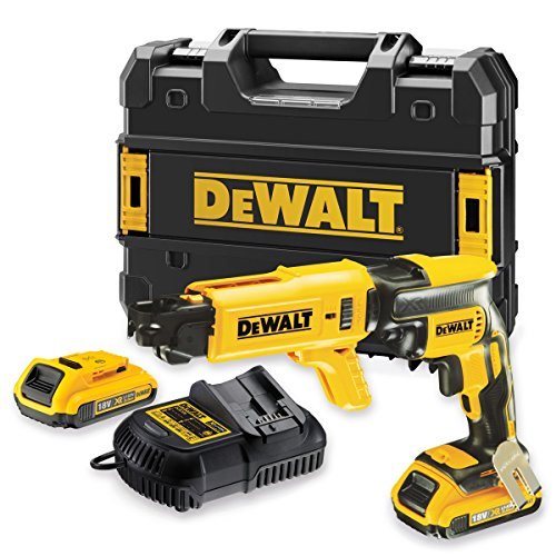 51IybNOwUTL - BEST BUY #1 Dewalt 18V Collated Drywall Cordless Brushless Screwdriver