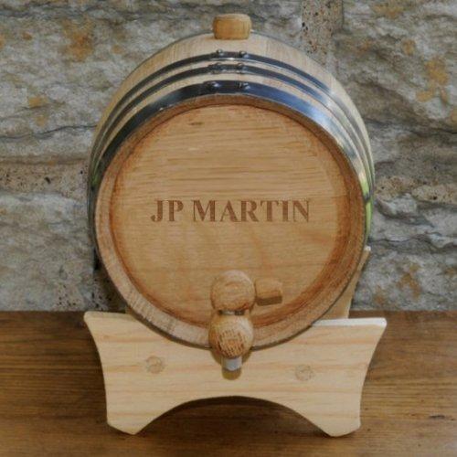 Personalized Mini-Oak Whiskey Barrel (Wine Barrel Keg compare prices)