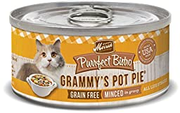 Merrick 5.5 oz Purrfect Bistro Grammy\'s Pot Pie Canned Cat Food, 24 count case